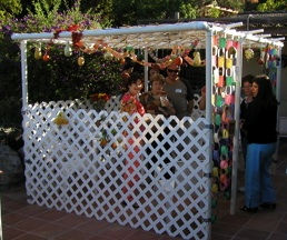 PVC Sukkah!